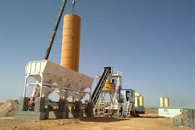 Stationary Concrete Batching Plant
